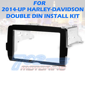 2014-17-HARLEY-DAVIDSON-RADIO-DOUBLE-DIN-DDIN-INSTALL-ADAPTER-DASH-KIT-STEREO