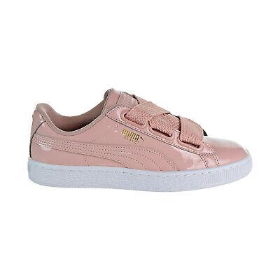 Puma – Basket Heart Patent Wn's Womens Shoes Peach Beige Puma White