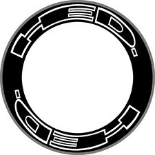 HED Outline Carbon Wheel Decals/Stickers Rim Decals Bike Bicycle Cycle For 2RIMS