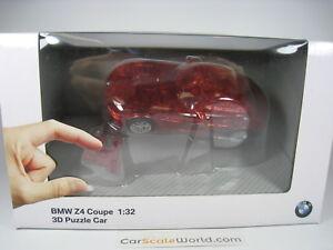 CAR-3D-PUZZLE-BMW-Z4-TRANSPARENT-1-32-ERC-60-PCS