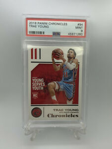 2018-Panini-Chronicles-Trae-Young-94-Rookie-Card-RC-PSA-9-Mint