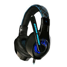 SOMIC G95 Blue LED Gaming Headsets & Microphone for GMAER RAZER MSN SKYPE UK