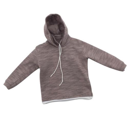"""1//6 Top Hoodie Sweatshirt sportswear pour 12 /""""Male Muscular Body Dragon"""