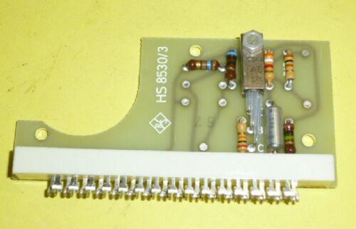 Platine mit 1x AC124 Transistor; Germanium PNP div Bauteile