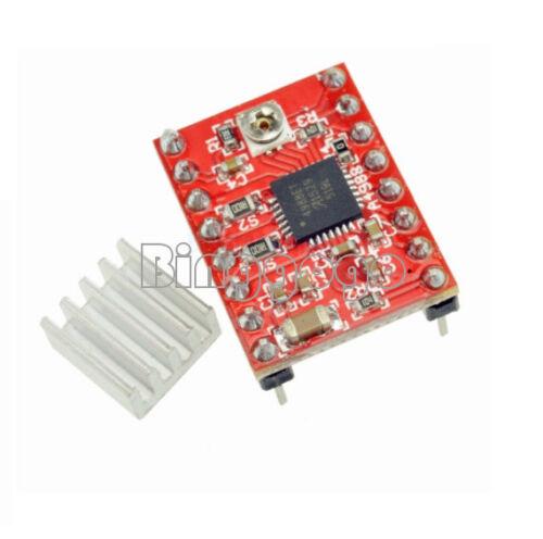 2PCS A4988 Stepper Motor Driver Module Polulu Compatible Reprap Prusa 3D Printer