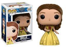 Belle Gelbes Kleid Beauty And The Beast Movie POP! Disney #242 Vinyl Figur Funko