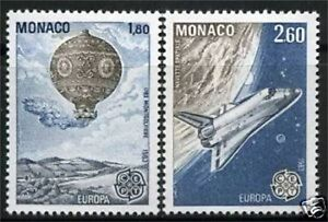 MONACO-TIMBRES-1365-1366-NEUF-XX-LUXE