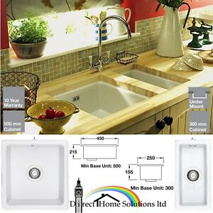 Rangemaster Kitchen Sinks Rangemaster rustique 10 05 15 ceramic undermount kitchen sink image is loading rangemaster rustique 1 0 0 5 1 5 workwithnaturefo