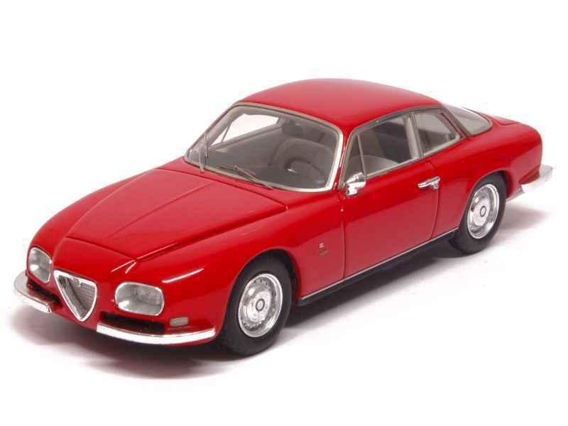 Alfa Romeo 2600 Sprint Zagato  rouge  1967 (Neo Scale 1 43   45600)