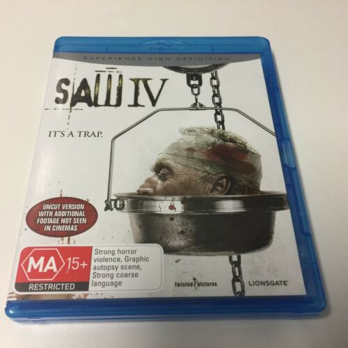 1 of 1 - BLURAY DISC SAW IV