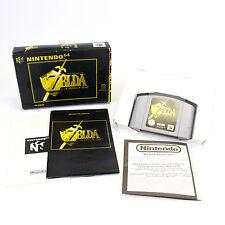 The Legend of Zelda: Ocarina of Time for Nintendo 64, N64, 1998, CIB, VGC