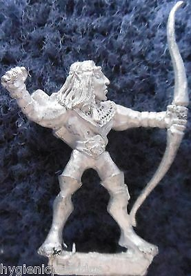 1990 Sea Elf MM82 SE 1 Marauder Elven Army Aquatic Warhammer Citadel AD&D Metal