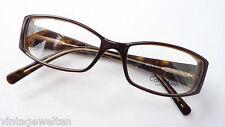 Kunststoffbrille Calvin Klein Hornoptik GR:S Fassung breiter Bügel Glitzerdecor