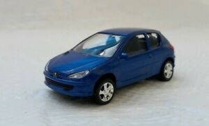 NOREV-3-Inches-Peugeot-206-3-Portes-1-60-New-IN-Box