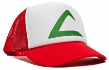 Retro POKEMON -ASH KETCHUM Curved Bill Printed Hat Cap HIGH QUALITY