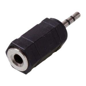 2-x-ADATTATORE-AUDIO-STEREO-JACK-DA-2-5mm-A-3-5mm-PLUG