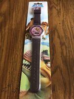 Ice Age Dawn Of The Dinosaurs Digital Watch - Rare - Nip Purple