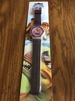 Ice Age Dawn Of The Dinosaurs Digital Watch - Rare - Nip Purple