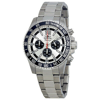 Invicta Signature II Chronograph Silver Dial Mens Watch 7405