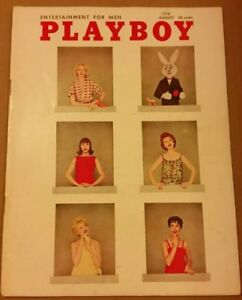 Playboy-August-1958-Back-Issue-VERY-GOOD-CONDITION-Free-Shipping-USA