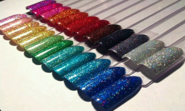 Holographic shiny fine glitter for crafts kids nail art body tattoo mermaid nail