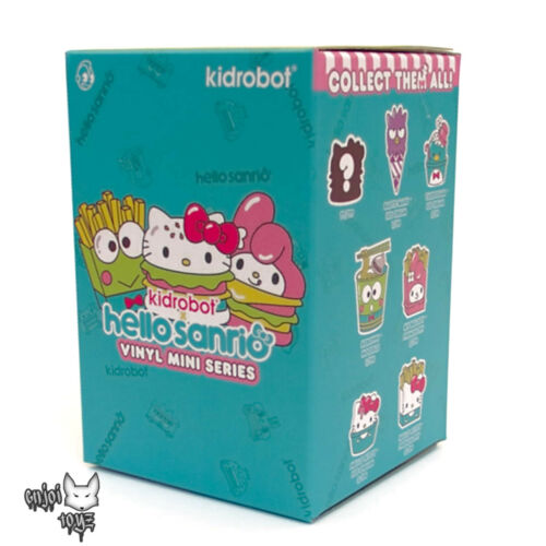 "Hello Sanrio Mini Series x Kidrobot 3/"" Figure New Gudetama Ice Cream"