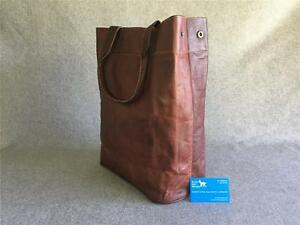 Handmade-Goat-Leather-T-TOTE-Shop-Tall-Bag-Shoulder-YKK-Billy-Goat-Designs