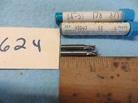 2 Trw-putnam 4 Flute 1/8 X 3/16 End Mill Usa 624