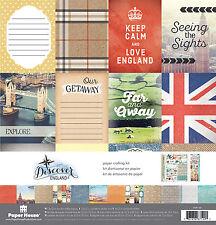 Travel Paradise Found Cruise 12x12 Scrapbooking Kit Paper House KTSP1058 New