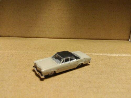 Classic Metal Works Mini Metal/'s 1967 Tan Ford Custom Fairlane Sedan     N-scale