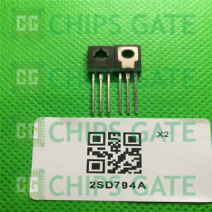 6PCS-2SD794A-Encapsulation-TO-126-NPN-SILICON-POWER-TRANSISTORS