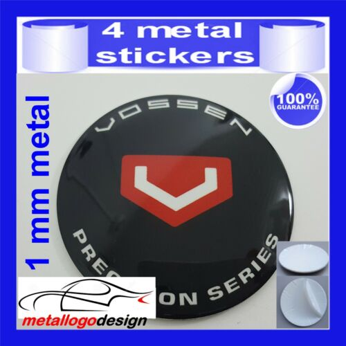 METAL STICKERS WHEELS CENTER CAPS Centro LLantas 4pcs VOSSEN 5