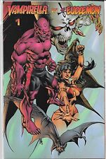 VAMPIRELLA VS. THE EUDAEMON (NM) HARRIS COMICS