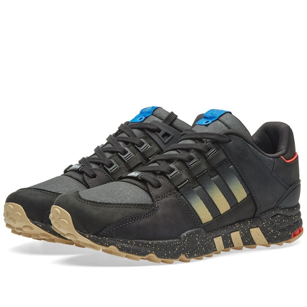 Adidas consorzio x alti & bassi eqt supporto 93 core & nero opaca oro | Funzionalità eccellenti  | Uomo/Donna Scarpa