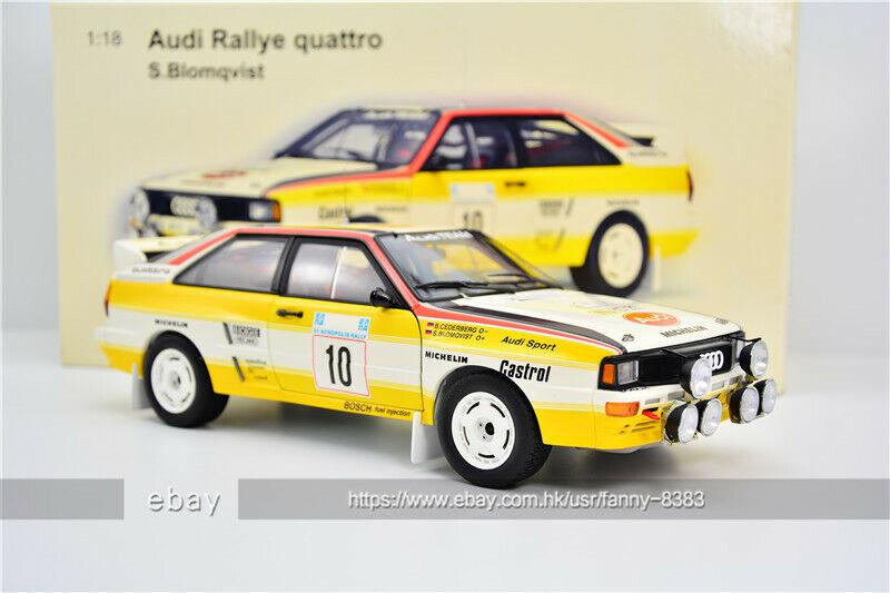 AUTOart 1 18 Rallye quattro Audi  10