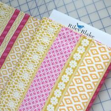Riley Blake My Sunshine Stripe Rainbow Candy Quilting Cotton Fabric by the Yard