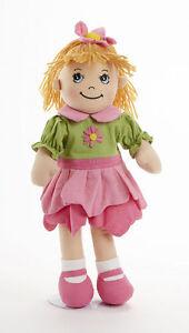 Sweet-Delton-Apple-Dumplin-Petal-Cloth-Doll-in-Pink-amp-Green-Dress-14-034-4191-9