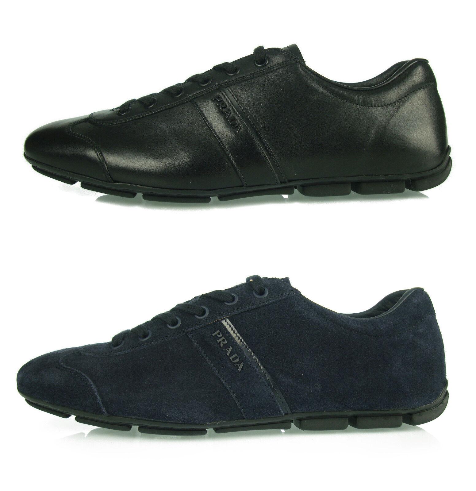 C1 495 PRADA sneakers Zapatos MONTECARLO hombre Zapatos MAN Zapatos sneakers herrenshuhe s 100%AUT. 497987