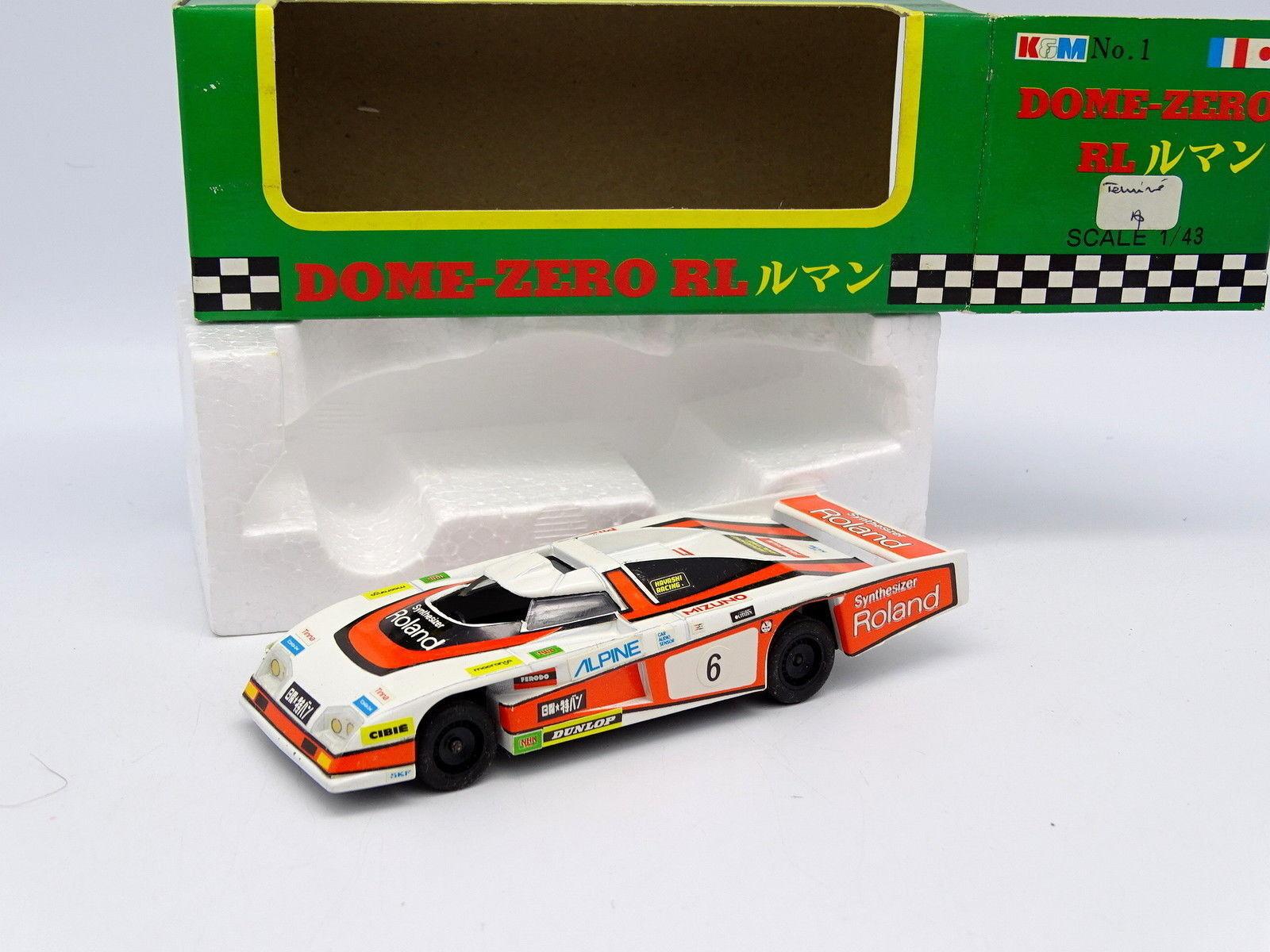 K&M Japon 1 43 - Dome Zero RL Roland Le Mans 1979 N°6