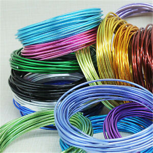 Marvelous 5 Metres Multi Colors Aluminum Wire 2Mm Jewelry Wrap Diy Craft Wires Wiring 101 Bdelwellnesstrialsorg