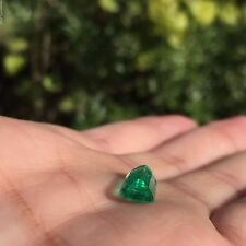 GORGEOUS 2.65 ct Green color Panjshir Emerald Super Natural loose Emerald