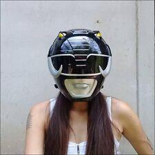 Mighty Morphin Black Power Rangers Helmet Megazord Wearable Costumes Cosplay