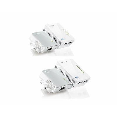 TP-LINK TL-WPA4220KIT AV600 Wi-Fi Powerline Networking Home Adapter Pack of 4