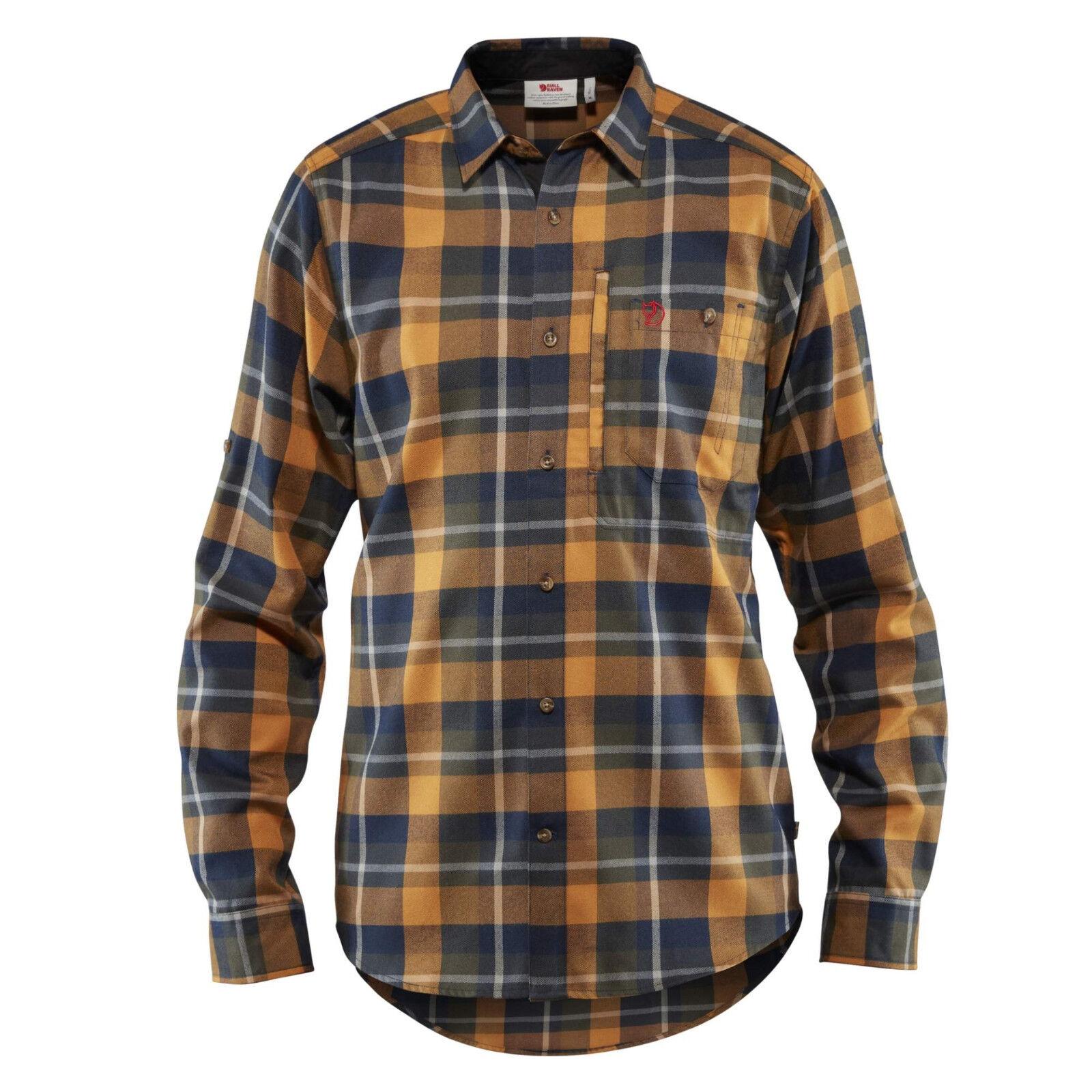 Fjällräven Fjällglim Shirt 81380 deep forest Outdoorhemd Funktionshemd Jagdhemd