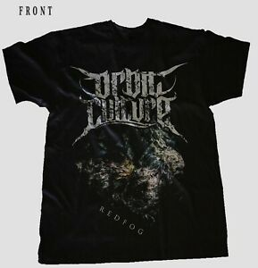 ORBIT-CULTURE-Redfog-Metal-Band-Garagedays-BLACK-T-shirt-Sizes-S-to-7XL