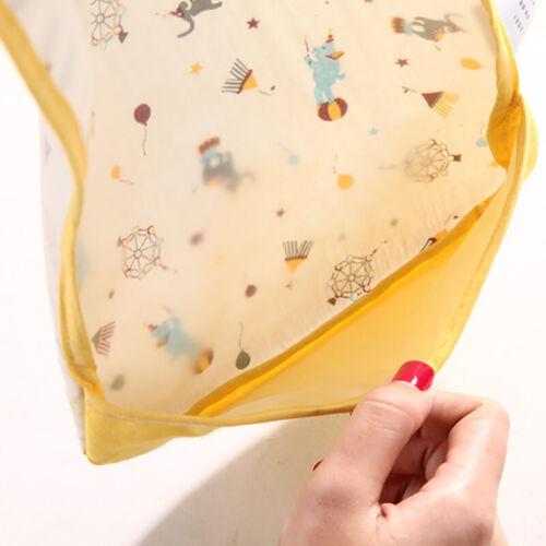 2er Baby Bibs Lätzchen mit Auffangschale Kinderlatz Speichelhandtuch Wasserdicht