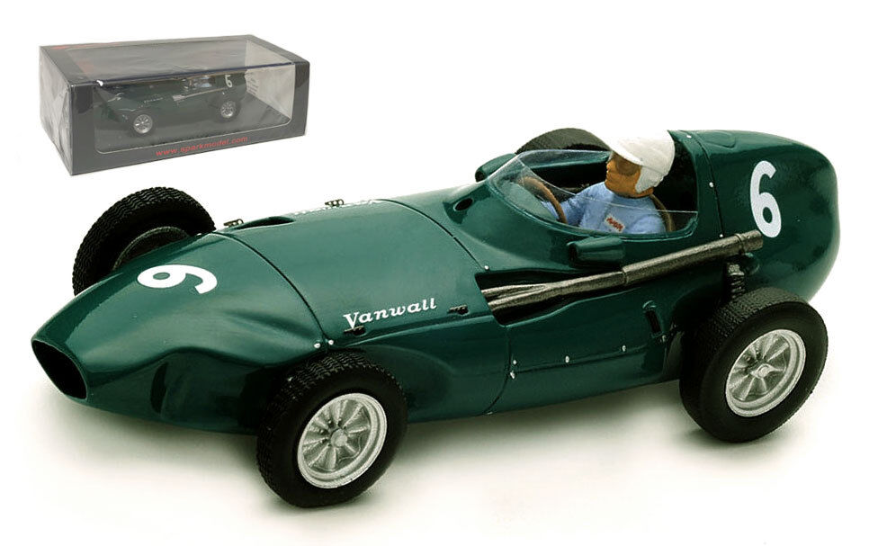SPARK S4871 GA VW4  6 3rd Belgian GP 1958-Stuart LEWIS-EVANS échelle 1 43
