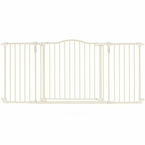 Supergate Deluxe Décor Gate Linen Fits Spaces between 38.3 to 72 Wide 30high