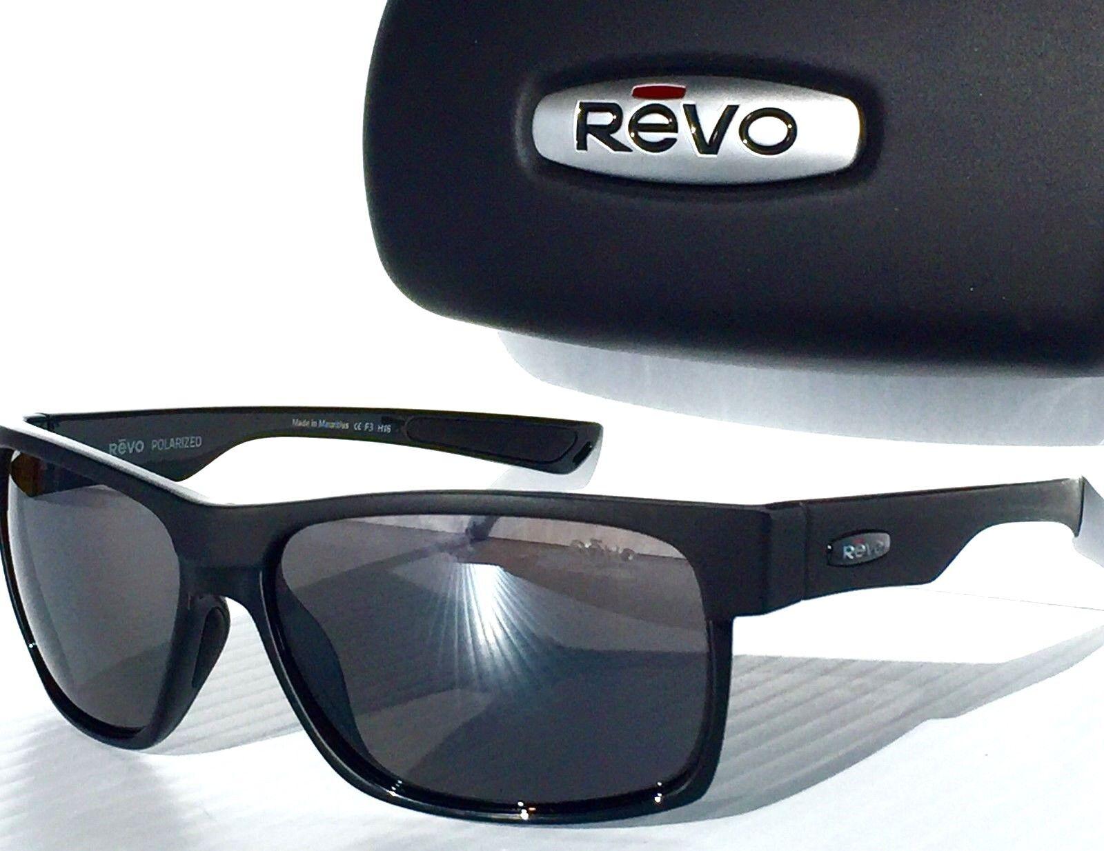 0bbf764b74 New  REVO Camden in Matte Black W Polarized Grey Lens Sunglass 5011x -01  for sale online