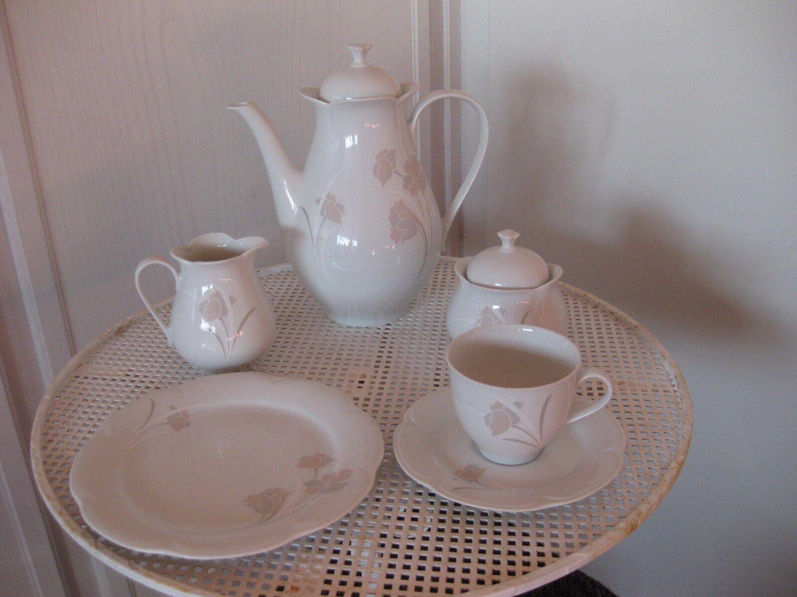 For mano Bavaria Germany 21-teiliges 21-teiliges 21-teiliges Kaffeeservice b96183